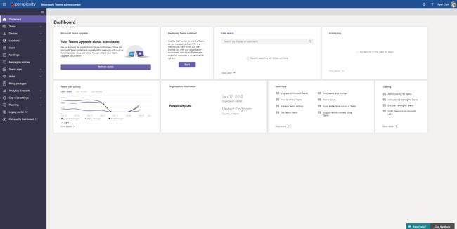 Microsoft Teams Admin Centre