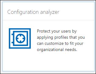 Configuration Analyser Tile