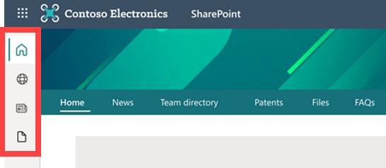 sharepoint-app-bar-in-sharepoint-online